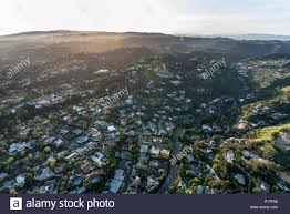100 Holmby Aerial View Of Hills And Benedict Canyon Neighborhood In