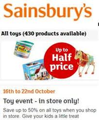 sainsbury s 1 2 price sale on now 5 latestdeals co uk