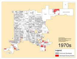 Denver s Single Family Homes by Decade 1970s – DenverUrbanism Blog