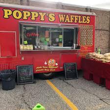 100 Food Trucks Ri Poppys Waffles Providence Roaming Hunger