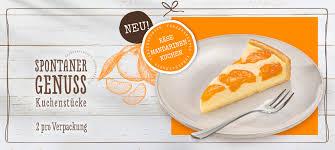 käse mandarinen kuchen to go coppenrath wiese