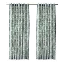 Moroccan Lattice Curtain Panels by Cotton Curtains U0026 Drapes Window Treatments The Home Depot