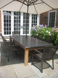 Bluestone Dining Room by Handmade Bluestone Teak Table By J R Signature Creations