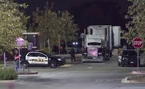 100 Truck Stops In San Antonio Tx Bodies Found In Overheated Truck In A Walmart In Texas