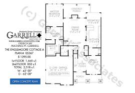Craftsman Style Floor Plans by Englemoore Cottage A House Plan House Plans By Garrell