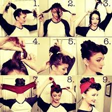 Easy Pin Up Hairstyles For Long Hair