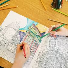 An Amazing Book With Spectacular Coloring Pages