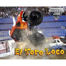 100 El Toro Monster Truck Personalized Iron On Transfers Jam Loco T