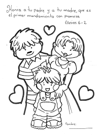 Lds Coloring Book Pages Family Page Lesson Ideas