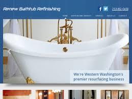Bathtub Resurfacing Seattle Wa by Renewbathtub Refinishing Resurface Bonney Lake Wa