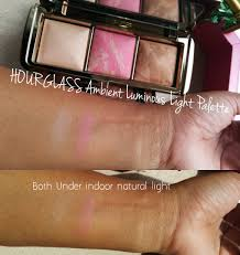 Discovering me HOURGLASS Ambient Luminous Light Palette Limited