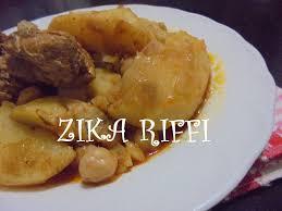 cuisine typique baranya ou barania bel batata plat typique cuisine du terroir