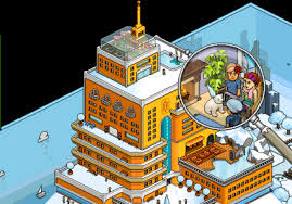 The Pixelated And Long Standing Social Game Habbo Integrated Facebook Connect Into Itself Last Month Allowing People To Share Information About Their