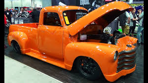 100 52 Chevy Truck Pickup Vicarious SEMA 2014 YouTube