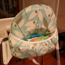 100 High Chair Pattern Nicole At Home Tutorial Cushioned Cover With Pocket For Antilop