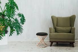 teppiche teppichböden hocker chrome silber rund modern