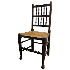 Likable Wood Chair Wicker Seat Wooden Woven With And Back Rush Bar ...