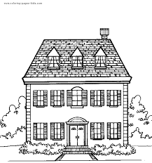 Printable House Coloring Pages 158