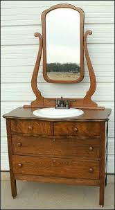 Tiger Oak Serpentine Dresser by Photo Of Front View Antique Bathroom Vanity Serpentine Oak