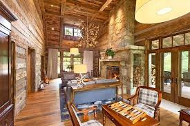 Impressive Gallery Rustic Storage Living Built In Firewood Room With Vaulted Ceiling Wood Floor