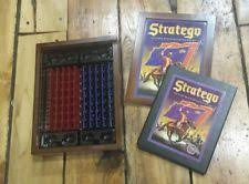 Stratego Board Game Vintage Collection Wood Wooden Box Classic War Strategy