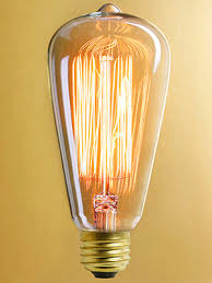 squirrel cage tungsten filament light bulb 30 watt house of