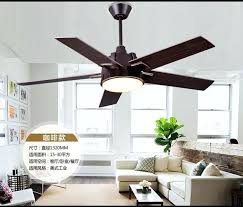 Dining Room Ceiling Fans With Lights Industrial Mute Fan Light Living