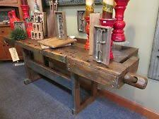 Woodworking Bench For Sale by Antique Workbench Ebay