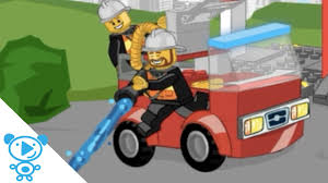 Fire Truck Games Lego Junior - YouTube