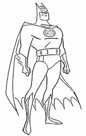Batman Coloring Pages For Boys