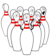 Bowling Clipart Funny