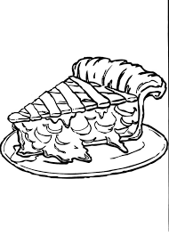 Pies clipart coloring 4