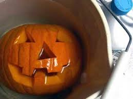 Preserve A Carved Pumpkin And Prevent Mold by Using 11 Common Household Objects To Decorate Your Pumpkin Homes