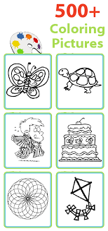 Over 500 Printable Coloring Pages You Can Print Your Own Book