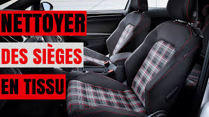 nettoyer siege voiture tissu astuce how to clean upholstery