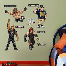 Fathead Baby Wall Decor by Fathead Jr Wwe Kids Collection Wall Decals Walmart Com