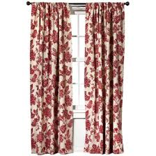 target home farrah floral window panel might look good in the
