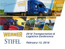 100 Werner Trucking Pay WERN Presents At Stifel 2018 Transportation Logistics