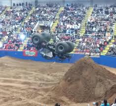 100 Monster Truck Backflip S Off Dirt Ramp Jukin Media Inc