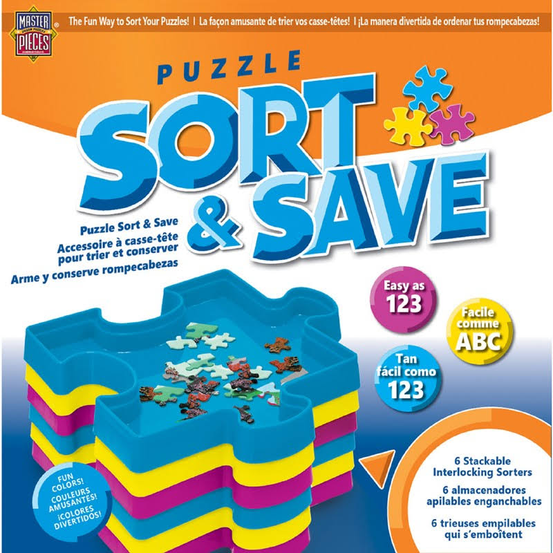 MasterPieces Puzzle Sort and Save Jigsaw Puzzle