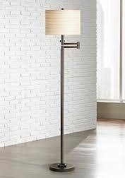 Franklin Iron Works Floor Lamp by Franklin Iron Works Tremont Floor Lamp With Burlap Shade Style