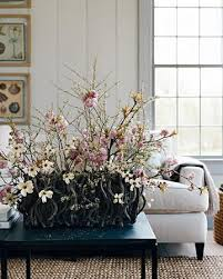 Flowers Spring Home Decorating With Blooming Branches Inexpensive And Beautiful Table Centerpieces