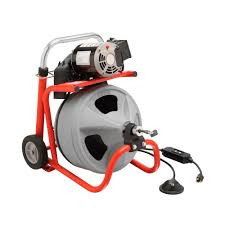 RIDGID 115 Volt K 400 Drum Machine with C 31 3 8 in Integral