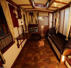 Gypsy Home Decor Uk by World U0027s Oldest Caravan Makes Its Final Journey Daily Mail Online