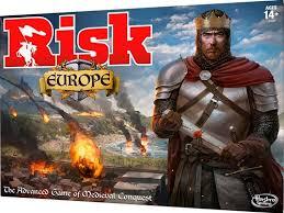 Risk Board Game Europe