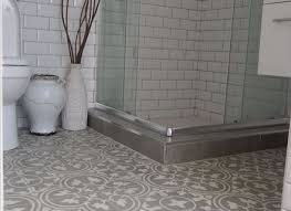 Grey Tiles White Grout by Marble Hexagon Tile Grey Grout Subway Porcelain Console Sink