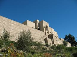 100 Frank Lloyd Wright La How S Take On Mayan Temples Shaped