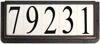 Mexican Tile House Numbers With Frame by Modern Design Ceramic Tile House Numbers Stunning 4 Inch House