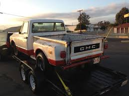 100 1969 Gmc Truck For Sale GMC CHEVROLET SHORT BED PICKUP TRUCK C10 STEP SIDE ORIG
