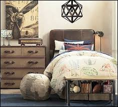 Soccer Themed Bedroom Photography by Boys Vintage Transportation Themed Bedrooms Boys Travel Theme